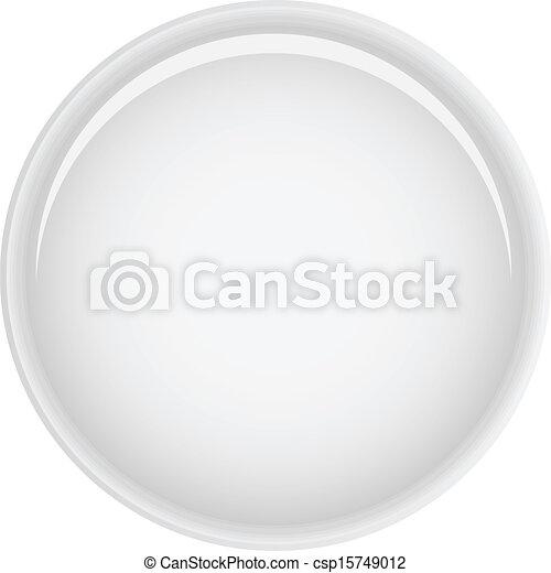 White button - csp15749012