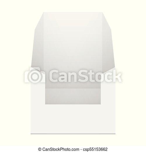 White Cardboard POS POI Holding Box