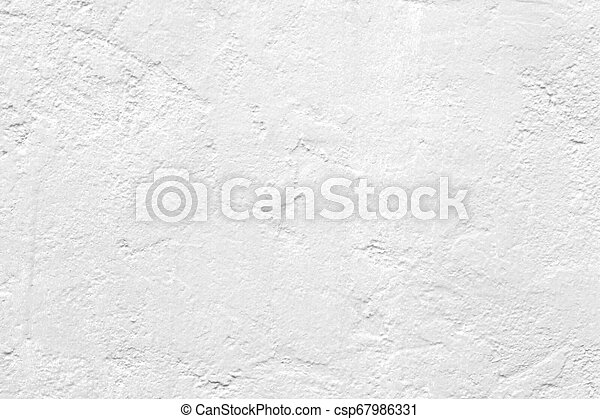 White cement wall texture background - csp67986331