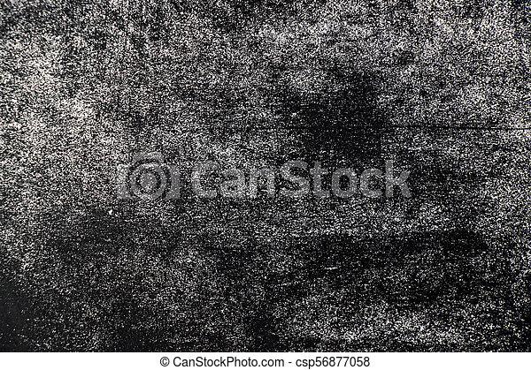 White chalk texture splash on blackboard background - csp56877058