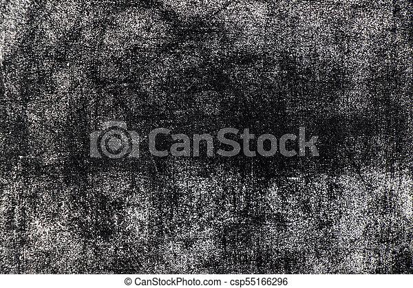 White chalk texture splash on blackboard background - csp55166296
