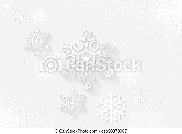 White Christmas Greeting