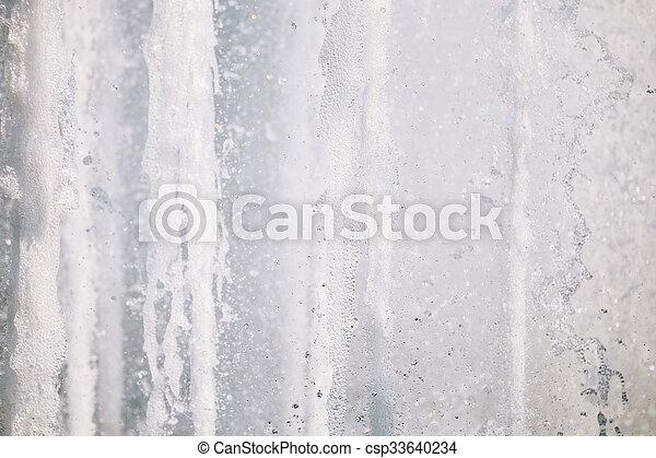 White clear water splashes background texture - csp33640234