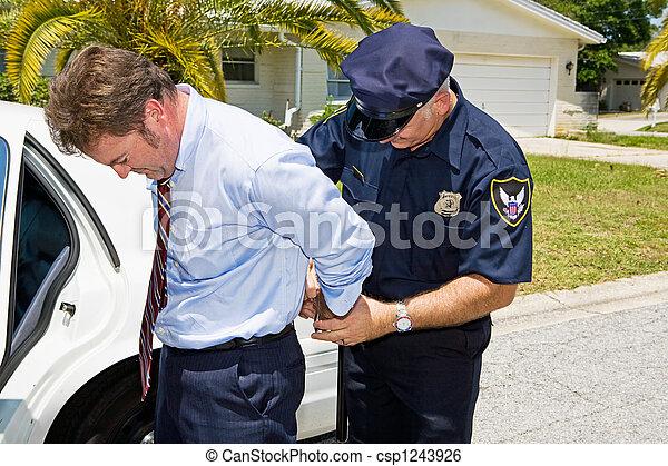White Collar Criminal - csp1243926