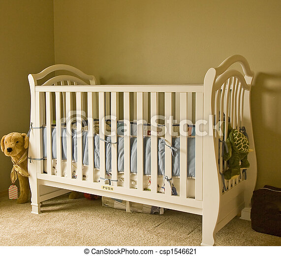 White Crib - csp1546621