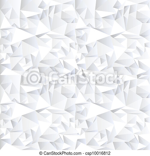White crystal abstract background - csp10016812