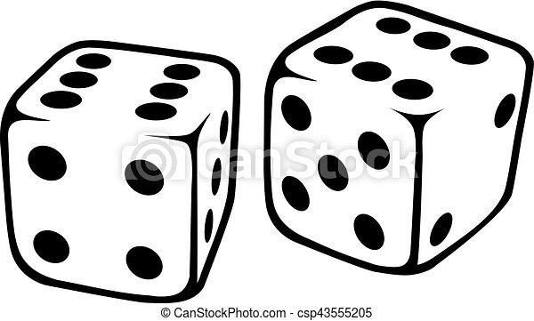 white dice rh canstockphoto com dice vector free dice vector icon