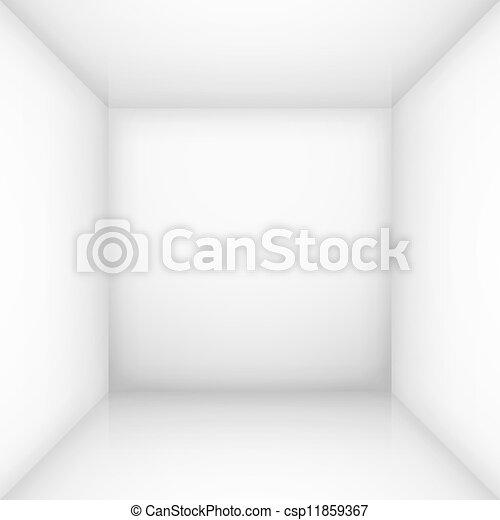 White empty room - csp11859367