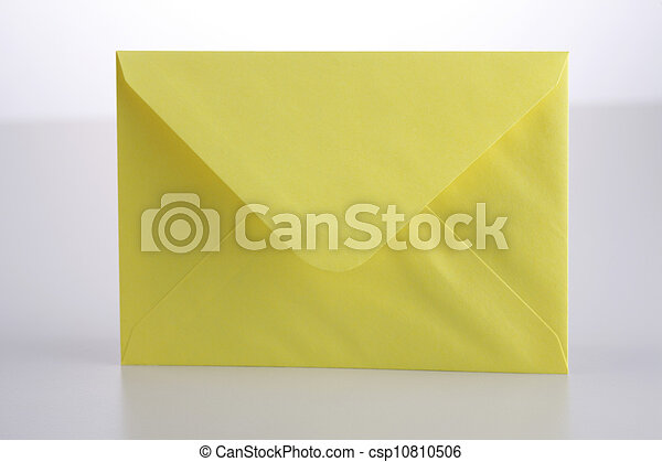 white envelope - csp10810506