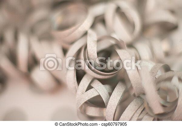 White Gift Bow - csp60797905