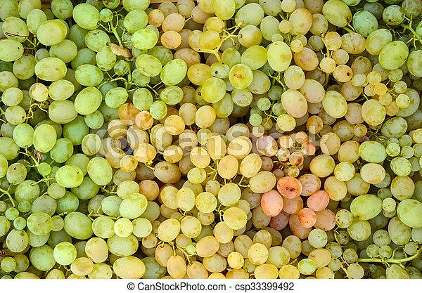 White grapes - csp33399492