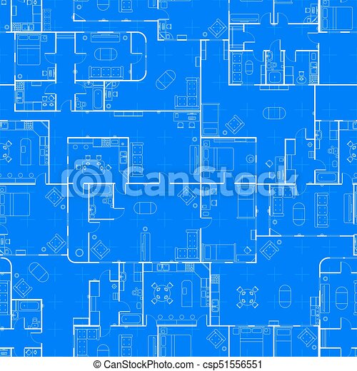 White house floor plan with interior on construction clipart white house floor plan with interior on construction blueprint scheme seamless pattern csp51556551 malvernweather Images