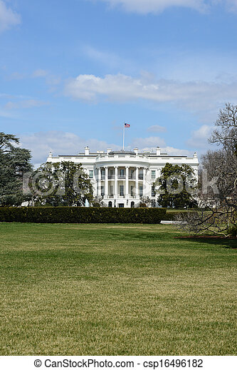 White House of the United States - csp16496182