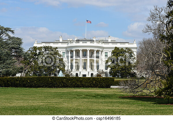 White House of the United States - csp16496185
