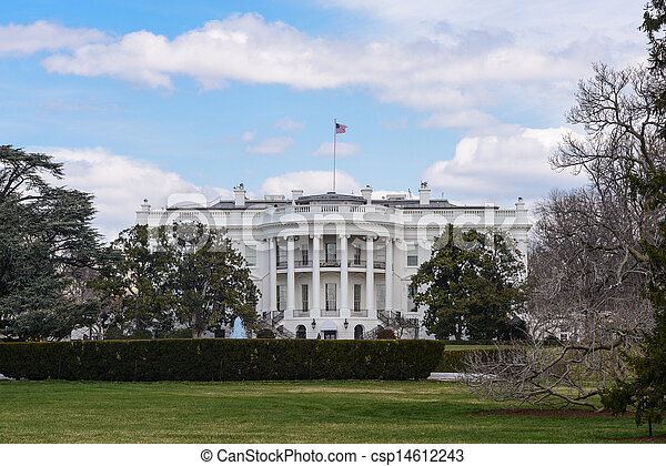 White House of the United States - csp14612243