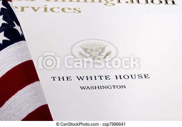 White House Seal - csp7996641