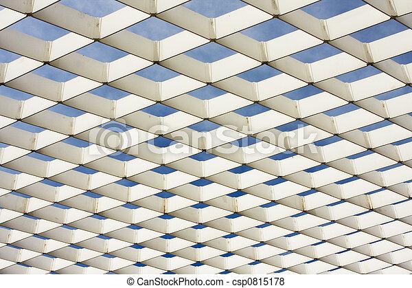 White Ironwork Pattern - csp0815178