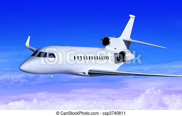 white jet - csp3740811