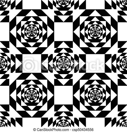 White kaleidoscope mirage on black background vector illustration