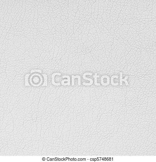White leather background - csp5748681