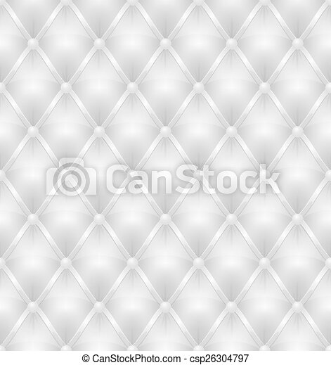 white leather upholstery seamless  - csp26304797