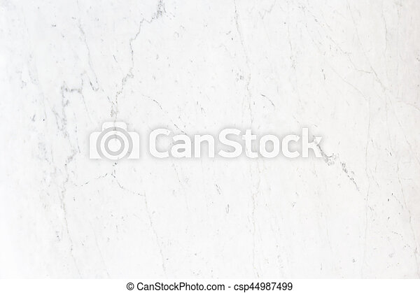 White marble background and texture - csp44987499