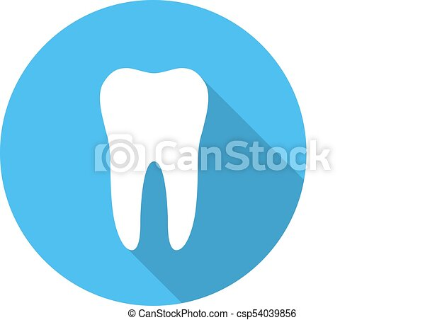 White Molar Tooth Poster Template Graphic Design Element For