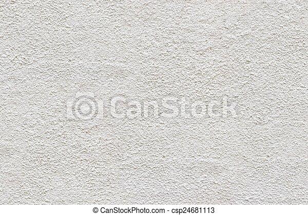 White mortar wall. - csp24681113