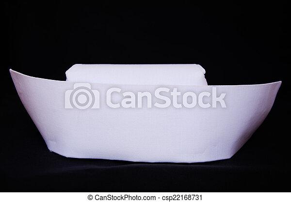 White nurse hat - csp22168731
