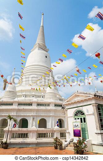 White pagoda - csp14342842