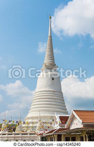 White pagoda - csp14345240