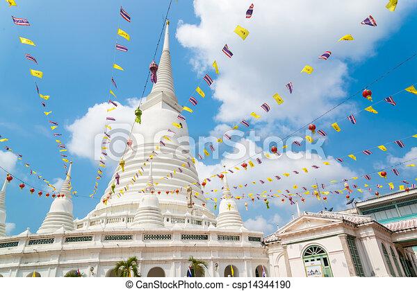 White pagoda - csp14344190