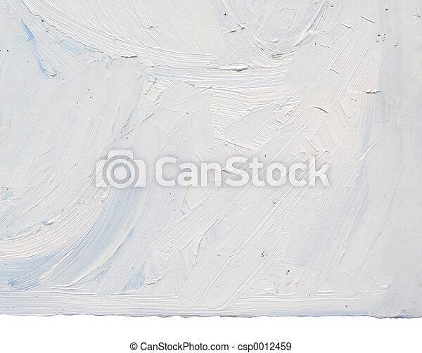 White Paint Texture - csp0012459