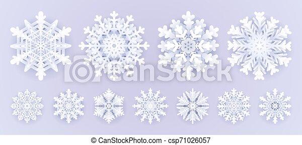 How to Make 3D Paper Snowflake - DIY & Crafts - Handimania   222x450
