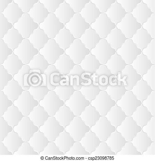 white pattern - csp23098785