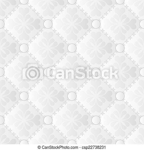 white pattern - csp22738231