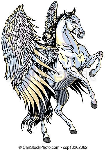 white pegasus white pegasus mythological winged horse isolated rh canstockphoto com pegasus clipart free pegasus clipart
