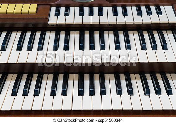 white piano keys, musical keyboard instrument.