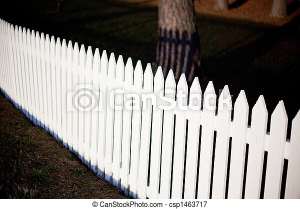 White Picket Fence - csp1463717