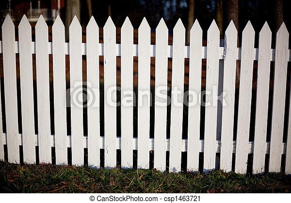 White Picket Fence - csp1463721