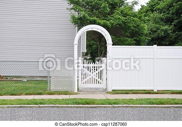 White Picket Fence - csp11287060