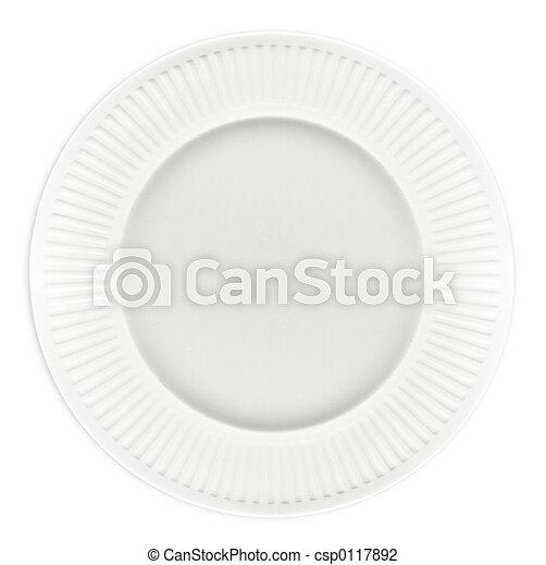 White Plate - csp0117892