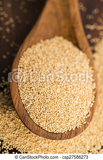White poppy seeds - csp27586273