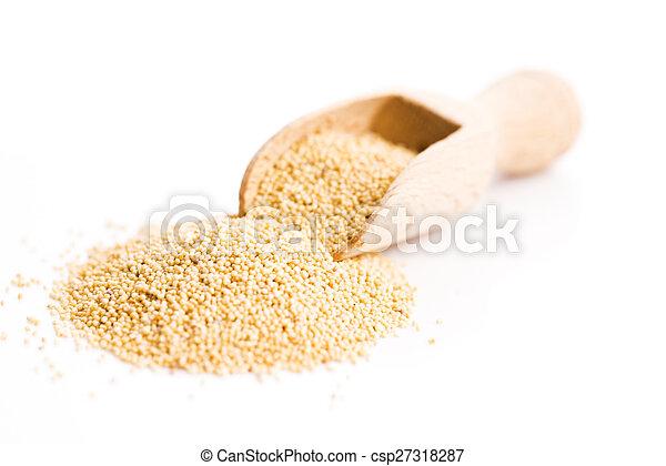 White poppy seeds - csp27318287