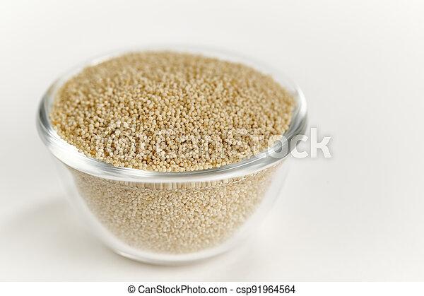 White Poppy Seeds - csp91964564