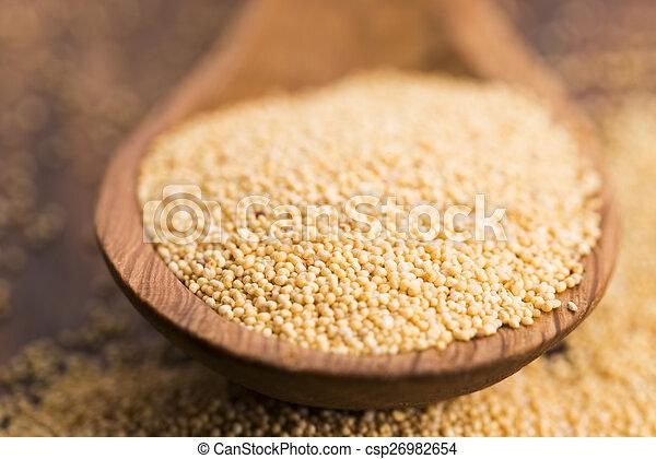 White poppy seeds - csp26982654