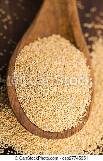 White poppy seeds - csp27745351