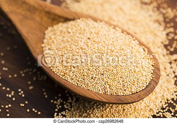 White poppy seeds - csp26982648