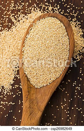White poppy seeds - csp26982649