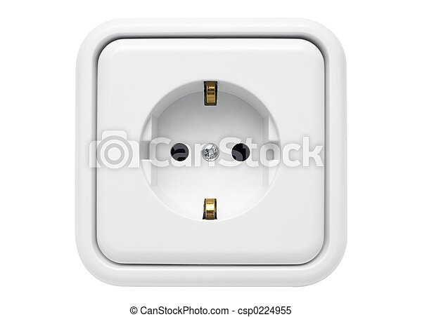 White Power Outlet - csp0224955